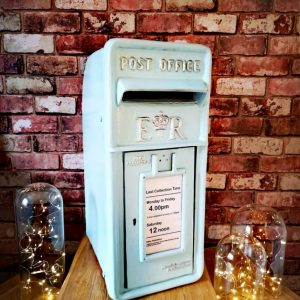 "The ""Baby blue"" One, Post Box Hire By Occasional Post"