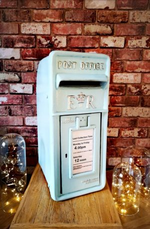 """The """"Baby blue"""" One, Post Box Hire By Occasional Post"""