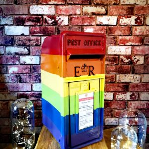 Pride Post Box Hire by Occasional Post for All Events including Weddings