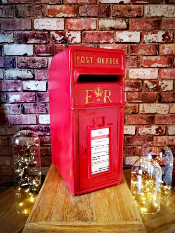 The 'Red' one - Post Box Hire by Occasional Post, Kent