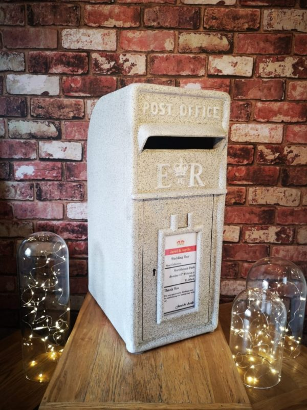 Stone Post Box for Hire by Occasional Post, Rochester Kent